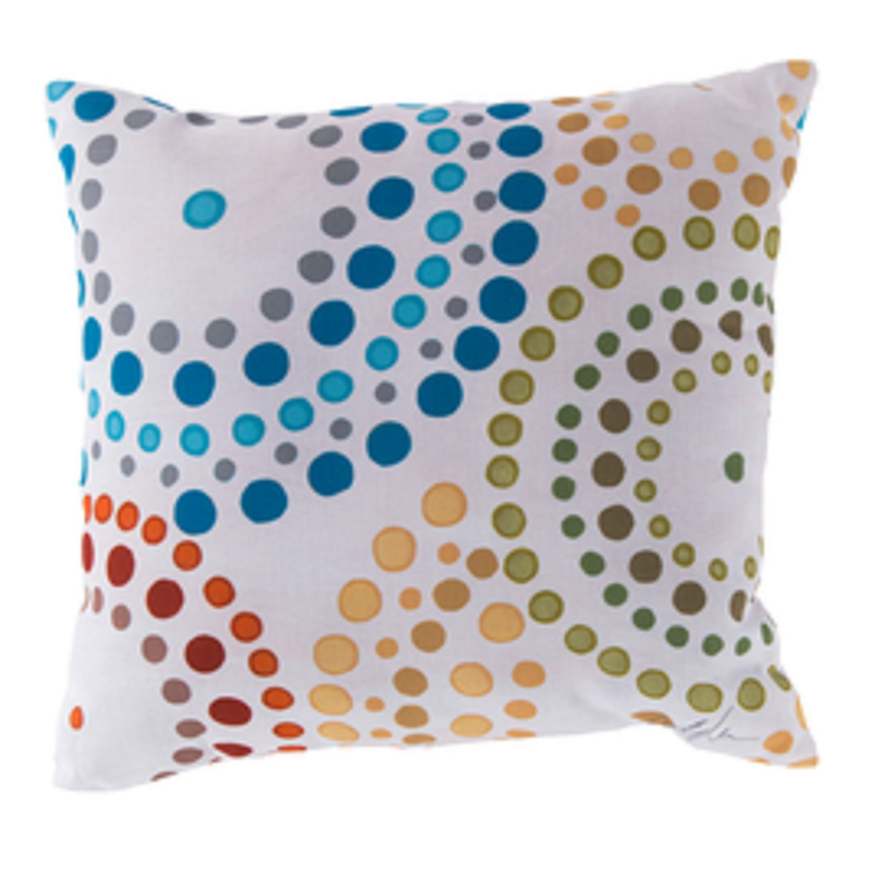 18 multi colored nautica shower bursts square outdoor pillow shell 30990537 - Christmas Outdoor Pillows