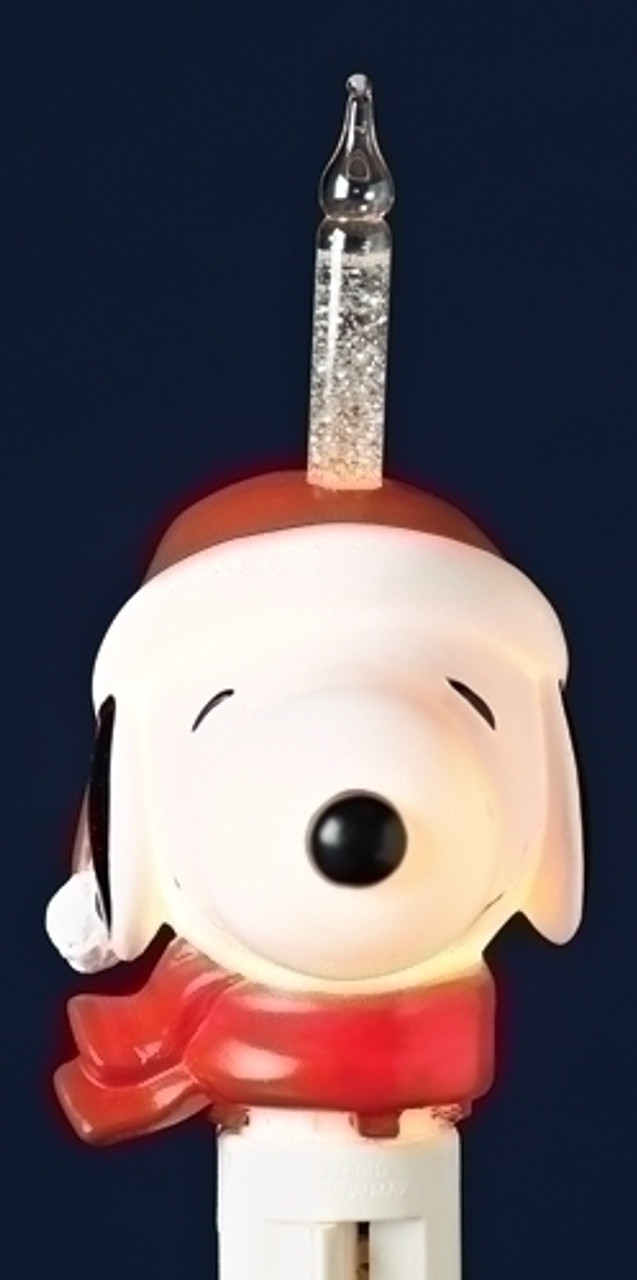 8 Quot Peanuts Snoopy In Santa Hat Christmas Bubble Night