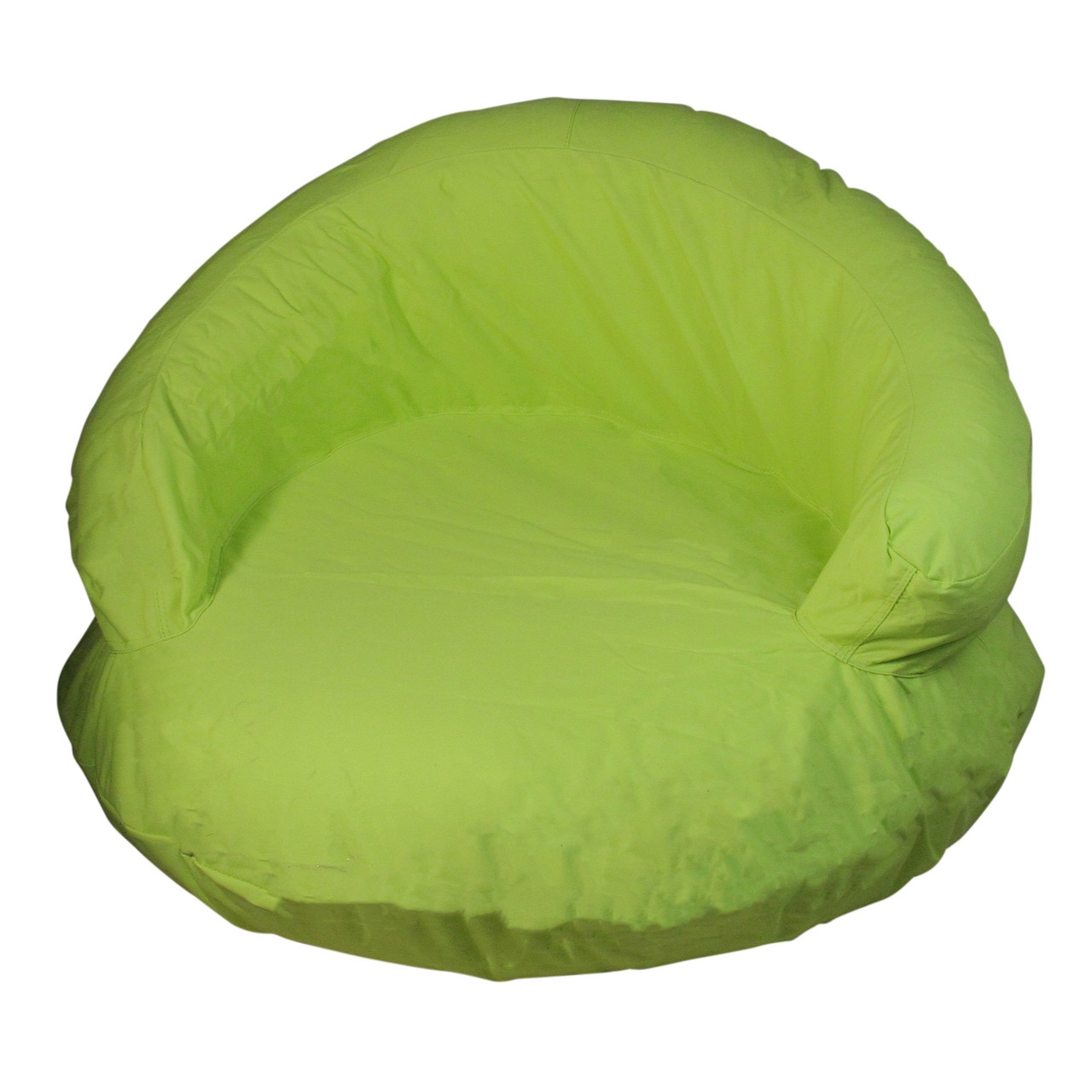 38 vibrant lime green sunsoft inflatable swimming pool chair float