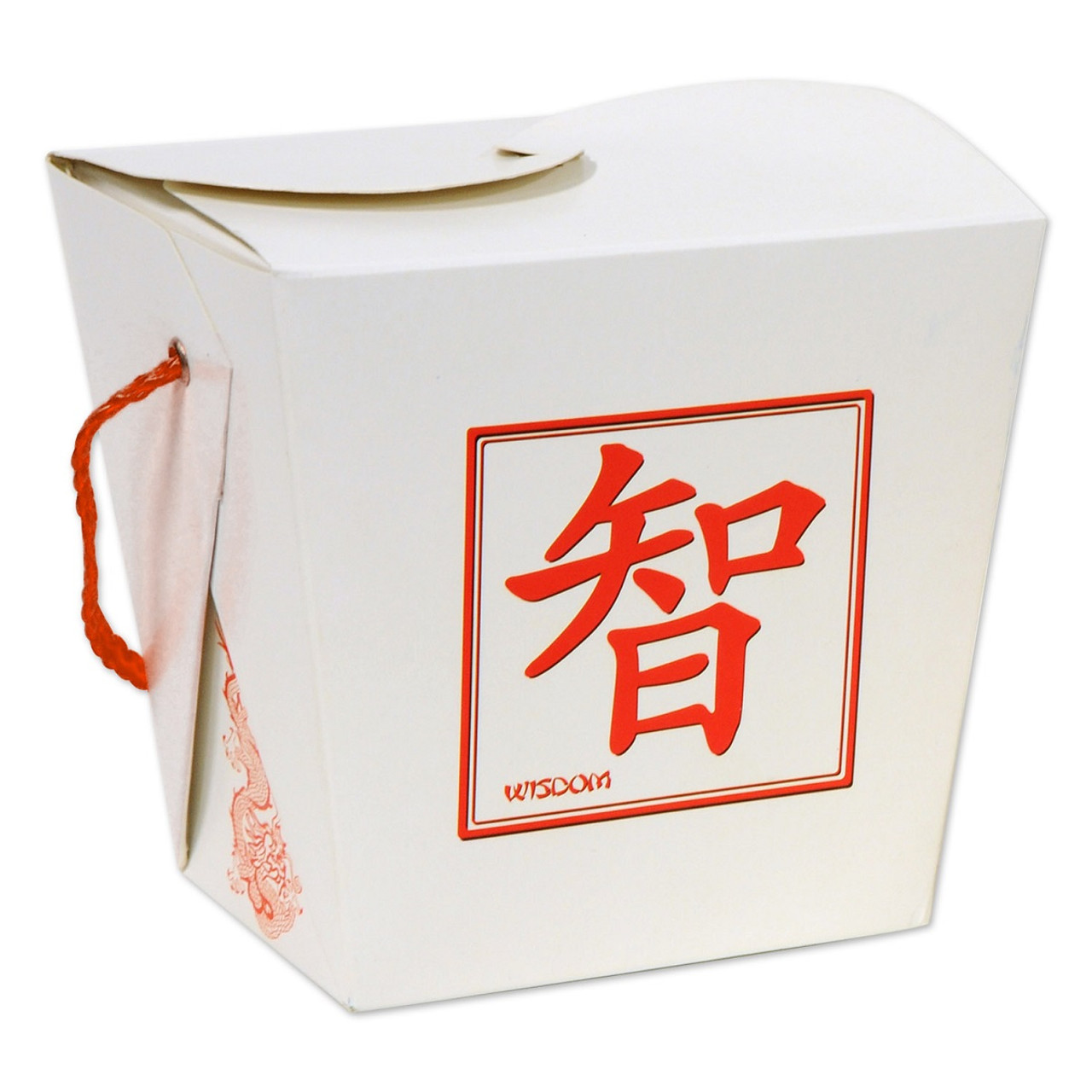 Red Chinese Take Out Favor Boxes : Club pack of asian fusion d quart sized take out
