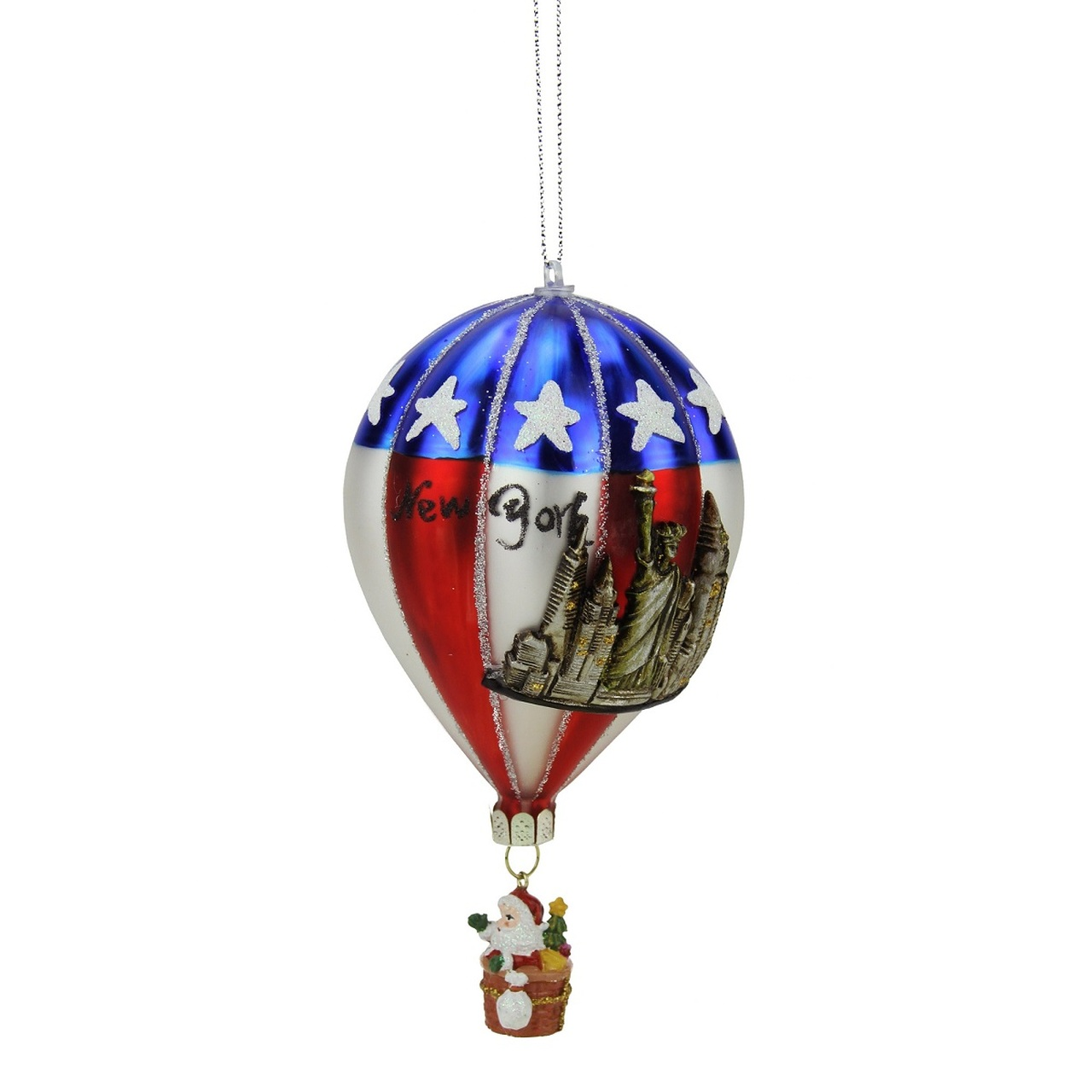 northlight - Red And Silver Christmas Ornaments