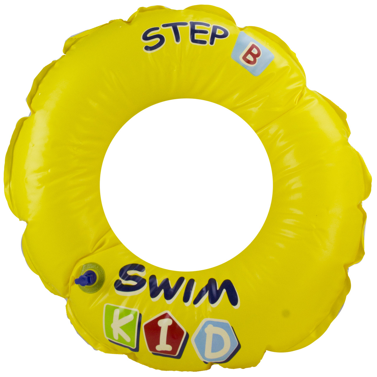20 Quot Yellow Swim Kid Quot Step B Quot Inflatable Swimming Pool Ring