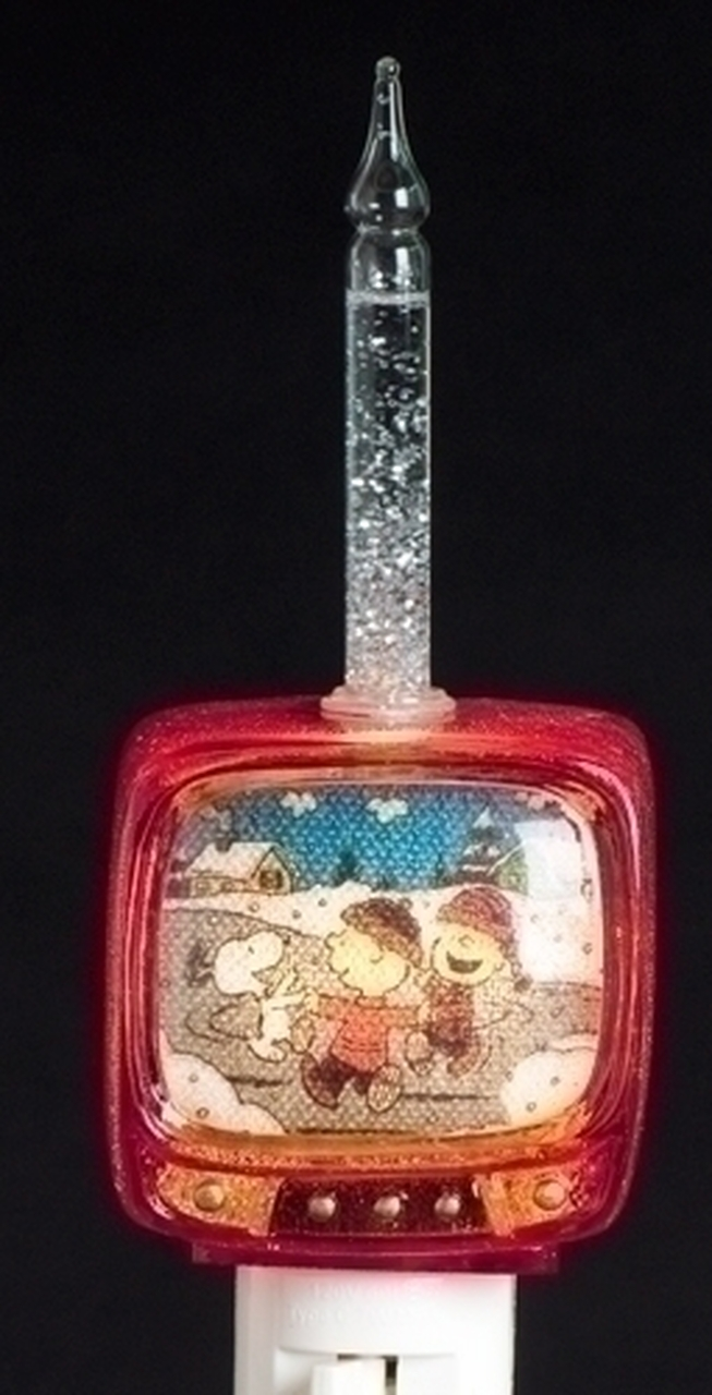 675 peanuts charlie brown snoopy tv christmas bubble night light 31573989