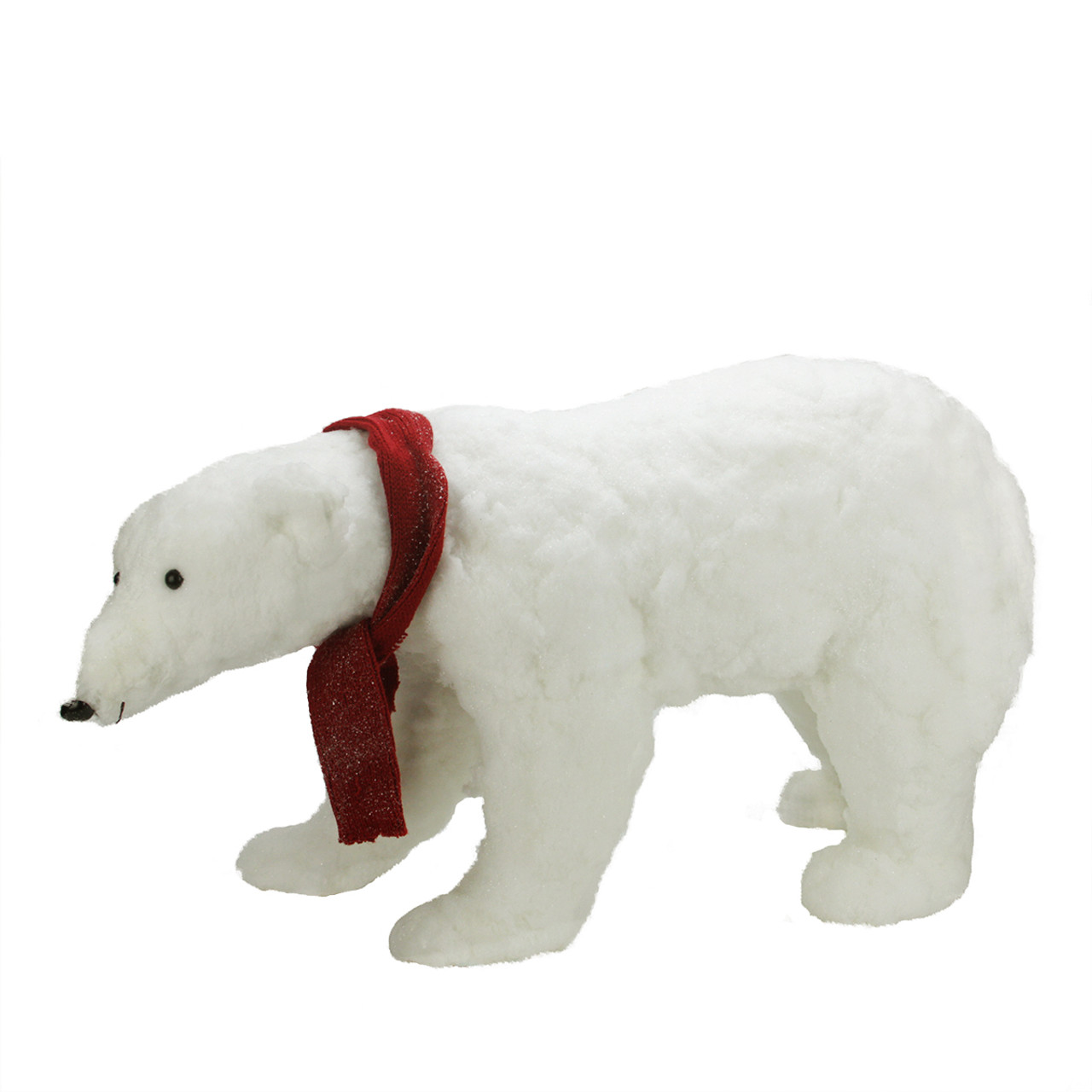 30 commercial walking plush white polar bear christmas decoration 31462433