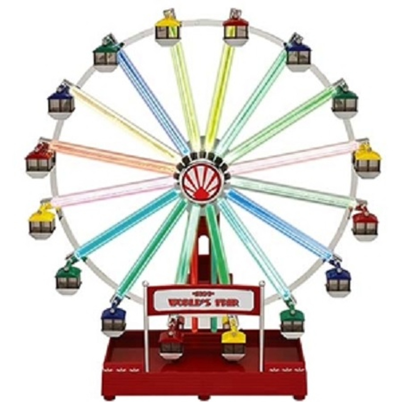 mr christmas animated musical led 1939 worlds fair ferris wheel decoration 79799 31754352