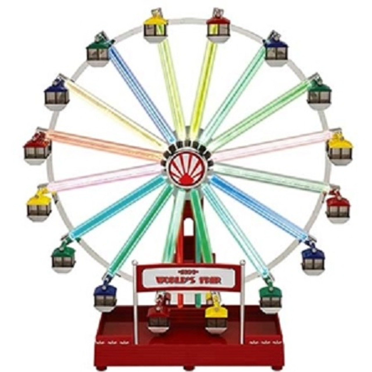 mr christmas animated musical led 1939 worlds fair ferris wheel decoration 79799 31754352 - Animated Christmas Decorations Indoor