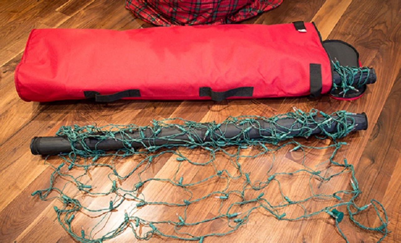 3 piece red and black christmas net light storage set for 4 x 6 lights 32273976