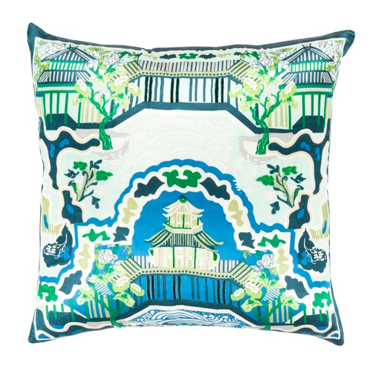 Seafoam Blue Decorative Pillows : 20