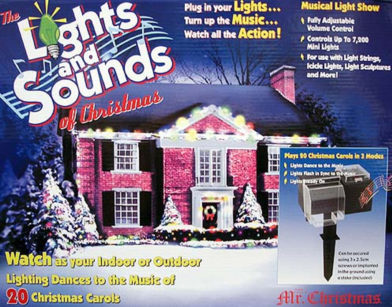 mr christmas the lights and sounds of christmas musical motion show 67791 5714324