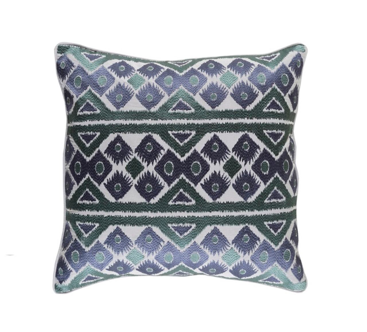 Blue Down Throw Pillows : 18