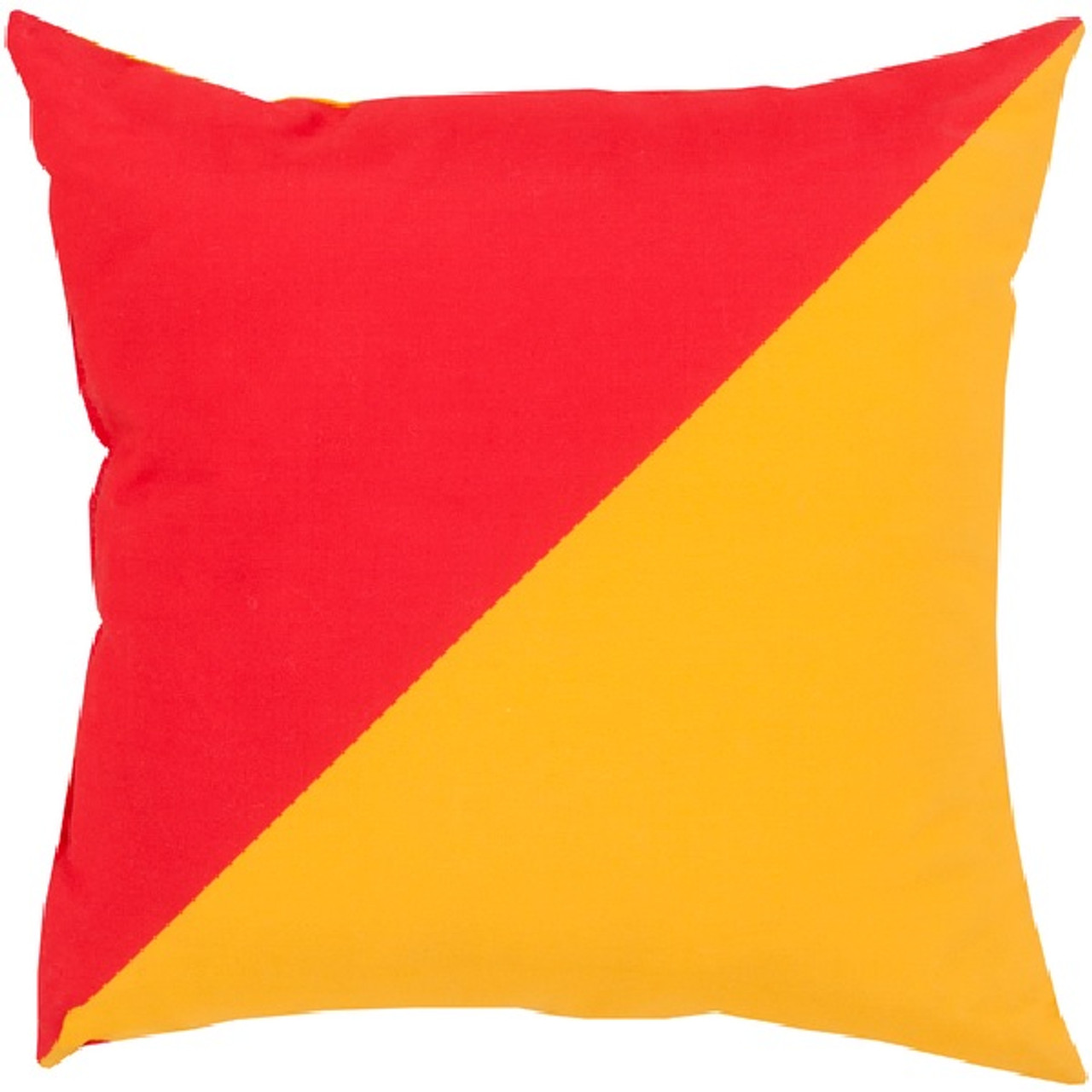 Red And Orange Decorative Pillows : 18