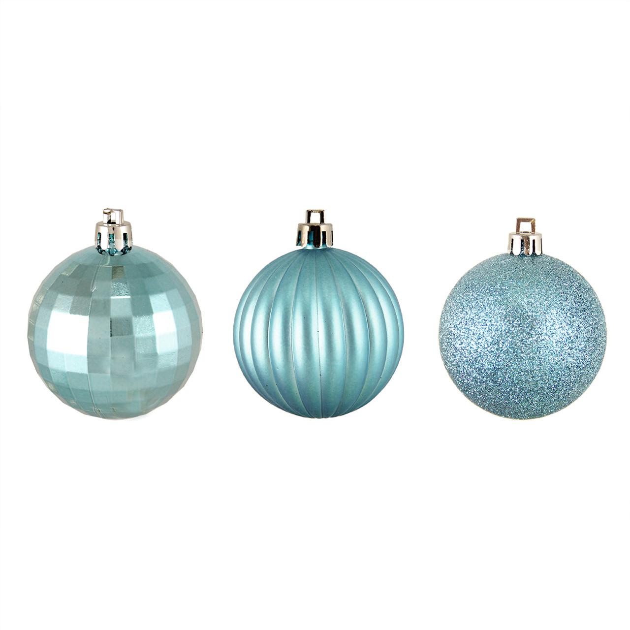 northlight - Light Blue Christmas Ornaments