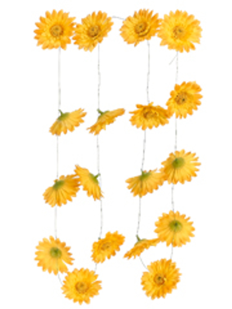 Club pack of 12 artificial yellow gerbera daisy silk flower garlands club pack of 12 artificial yellow gerbera daisy silk flower garlands 6 6998580 mightylinksfo