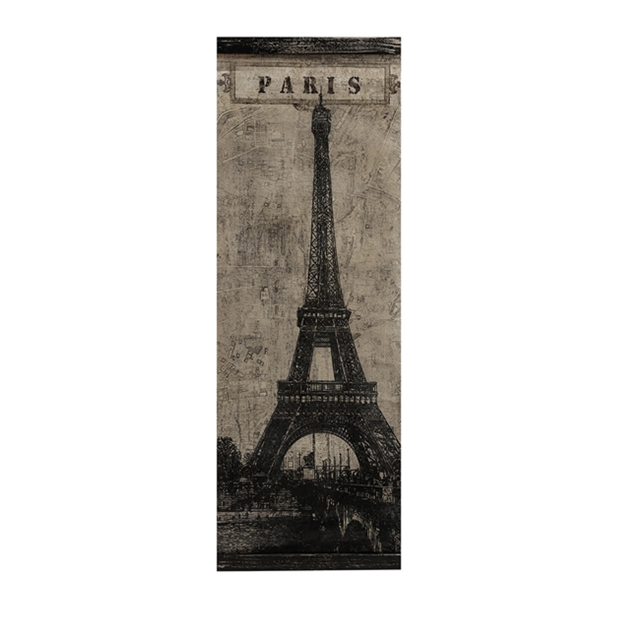48 city of paris shades of black fabric and fir wood eiffel tower wall art decor 31451921