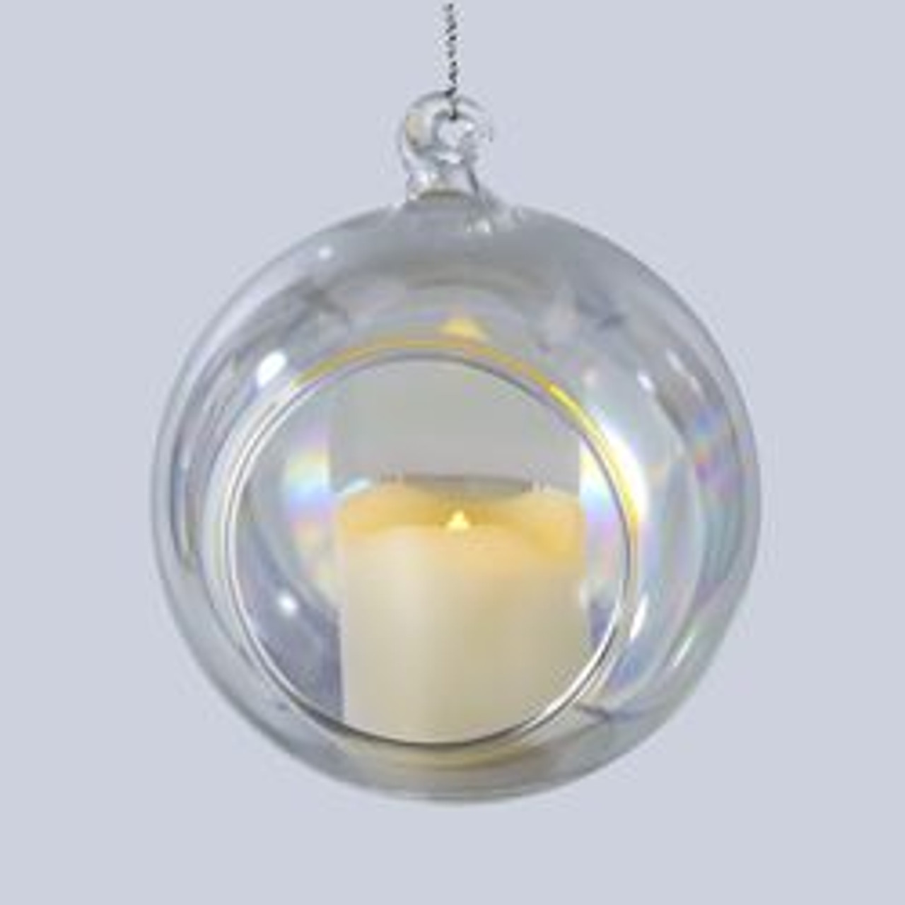 pack of 6 battery operated votive candles in iridescent glass ball christmas ornaments 35 31341799 - Christmas Decorations Battery Operated Candles
