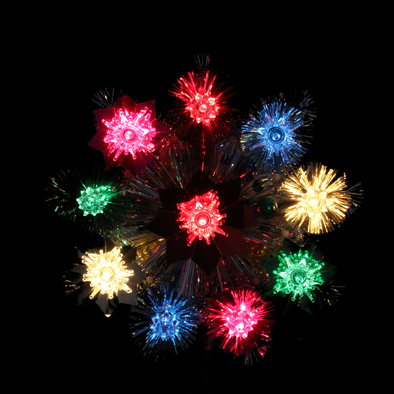 Collection Multi Colored Lights Christmas Tree Pictures