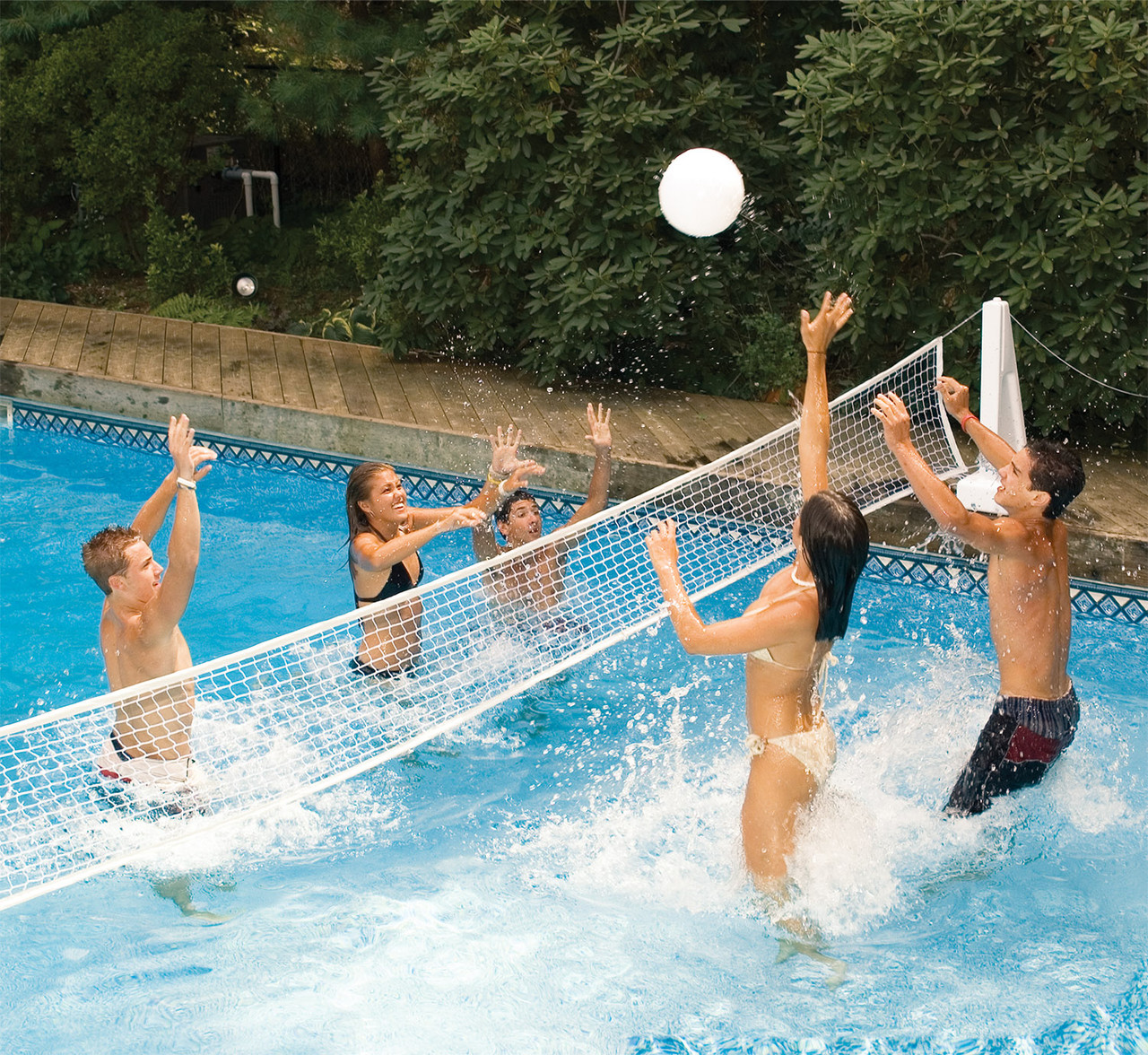 Water sports pool jam basketball volleyball swimming - Pool volleyball ...