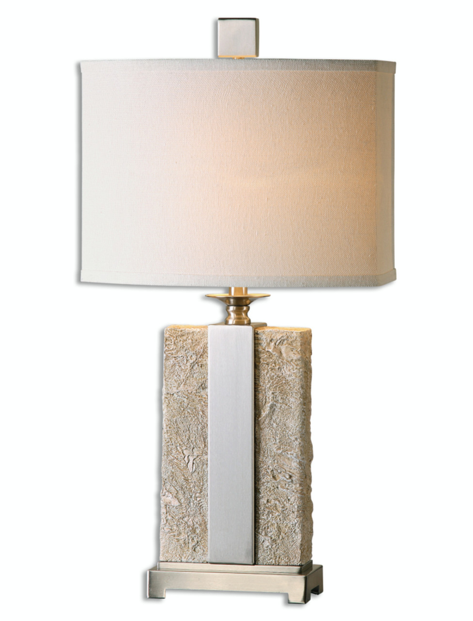 with mini brushed valencia touch table com pack nickel fabric white designs set shades amazon simple wht lamps dp lamp