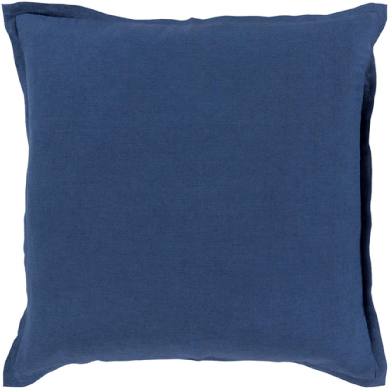 18 royal blue solid decorative throw pillow christmas for Royal blue couch pillows