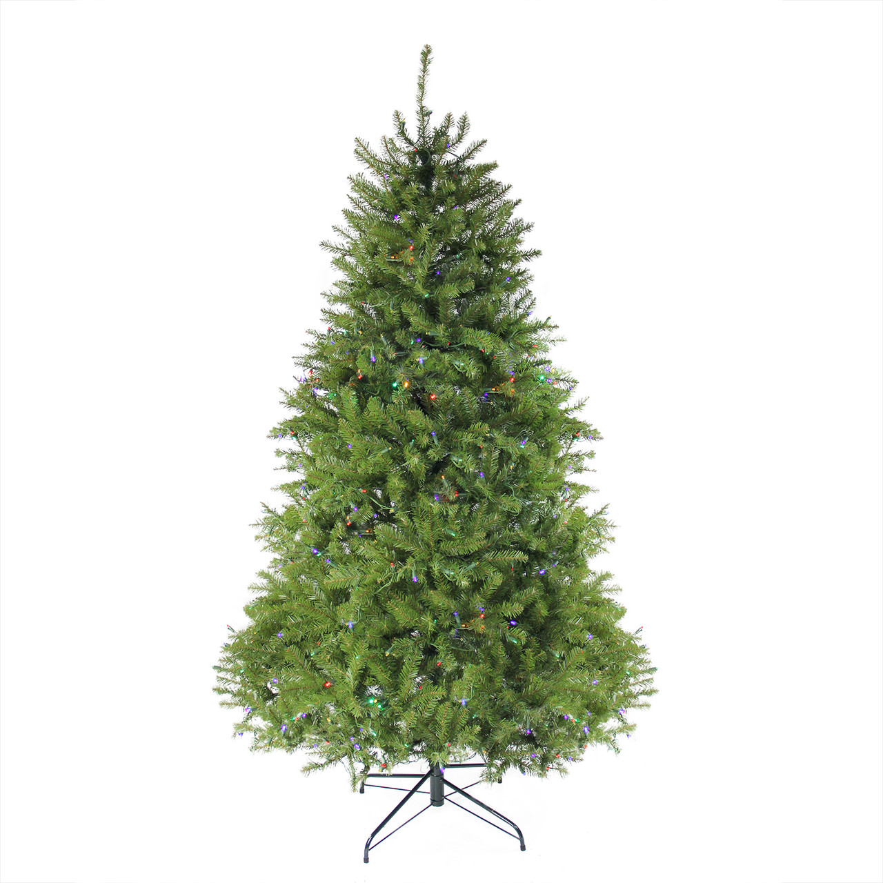 12\' Pre-lit Northern Pine Full Artificial Christmas Tree - Multi ...