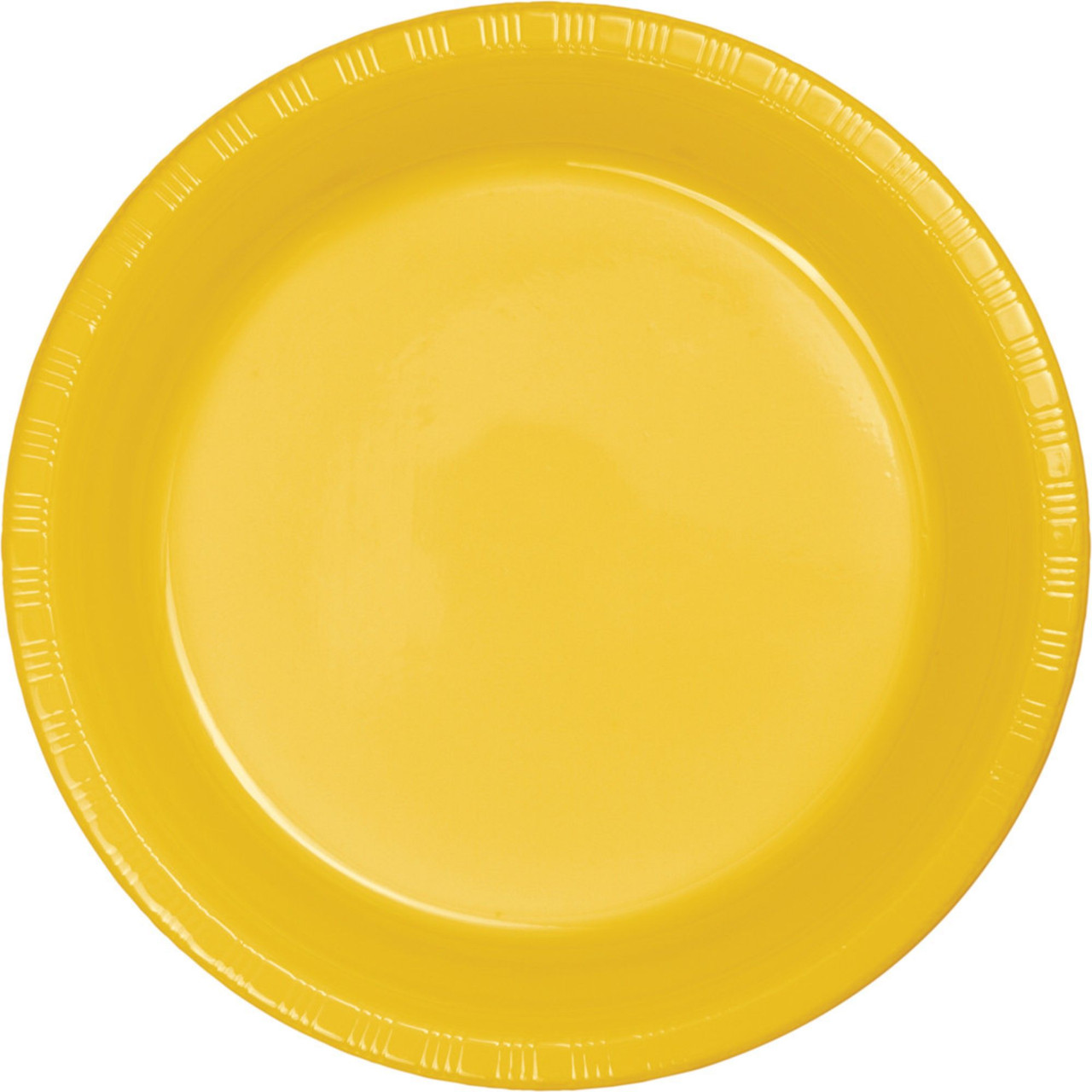 Club Pack of 600 School Bus Yellow Disposable Plastic Party Dinner Plates 8.75  - 31377703  sc 1 st  Christmas Central & Club Pack of 600 School Bus Yellow Disposable Plastic Party Dinner ...