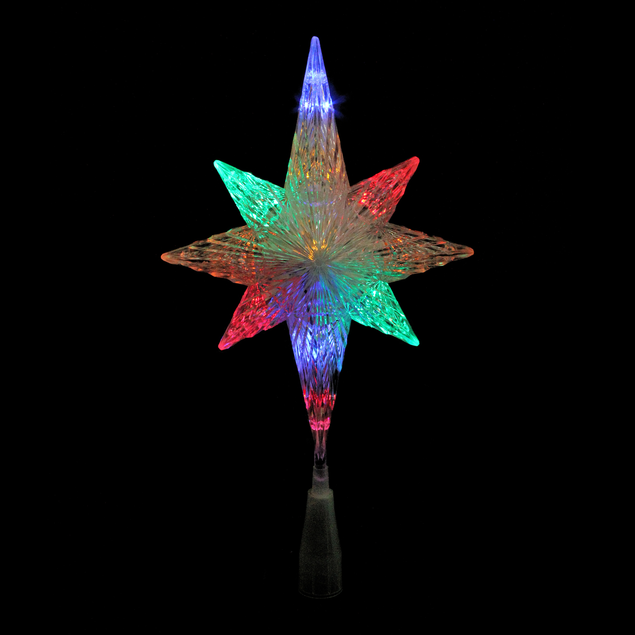"11"" LED Lighted Crystal Star of Bethlehem Christmas Tree ..."