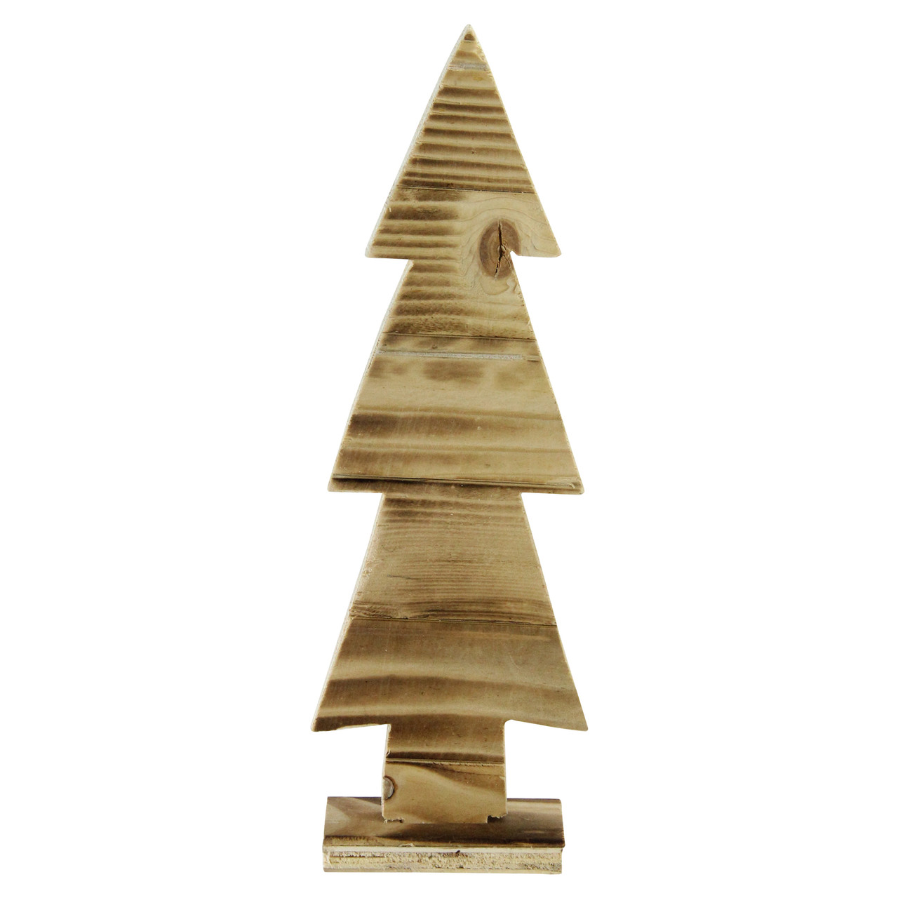 1175 rustic wood cut out christmas tree table top decoration 32620384 - Rustic Wood Christmas Tree