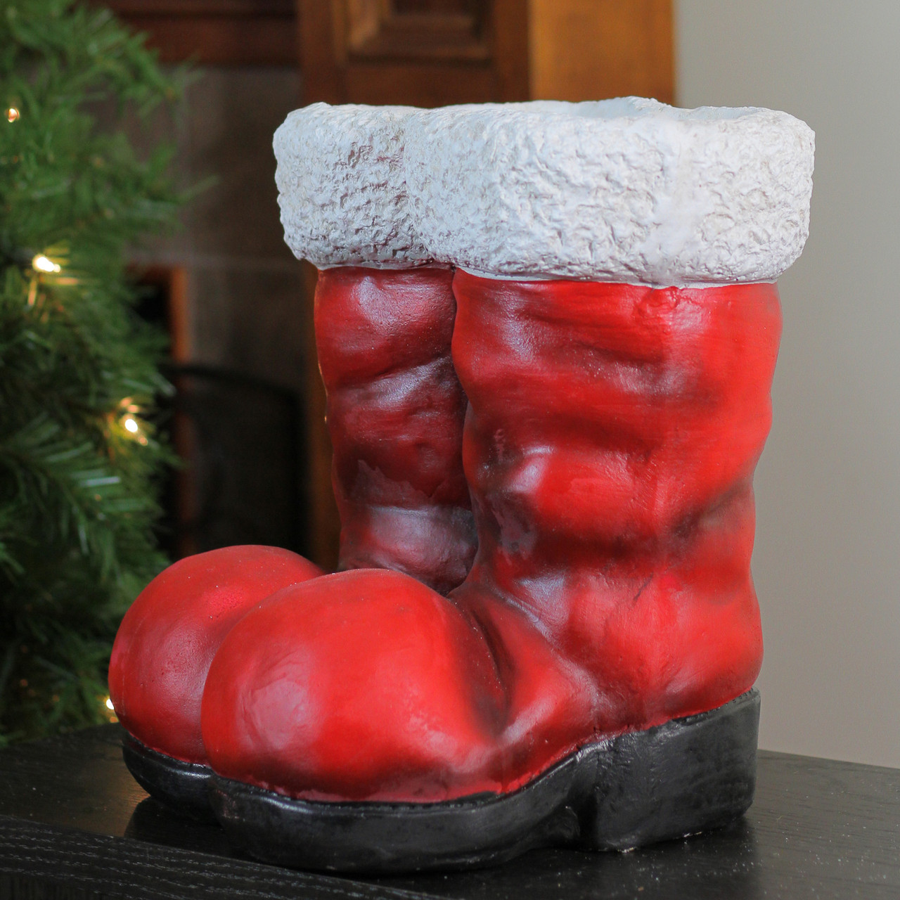 12 25 Decorative Ruby Red Vintage Santa Claus Christmas