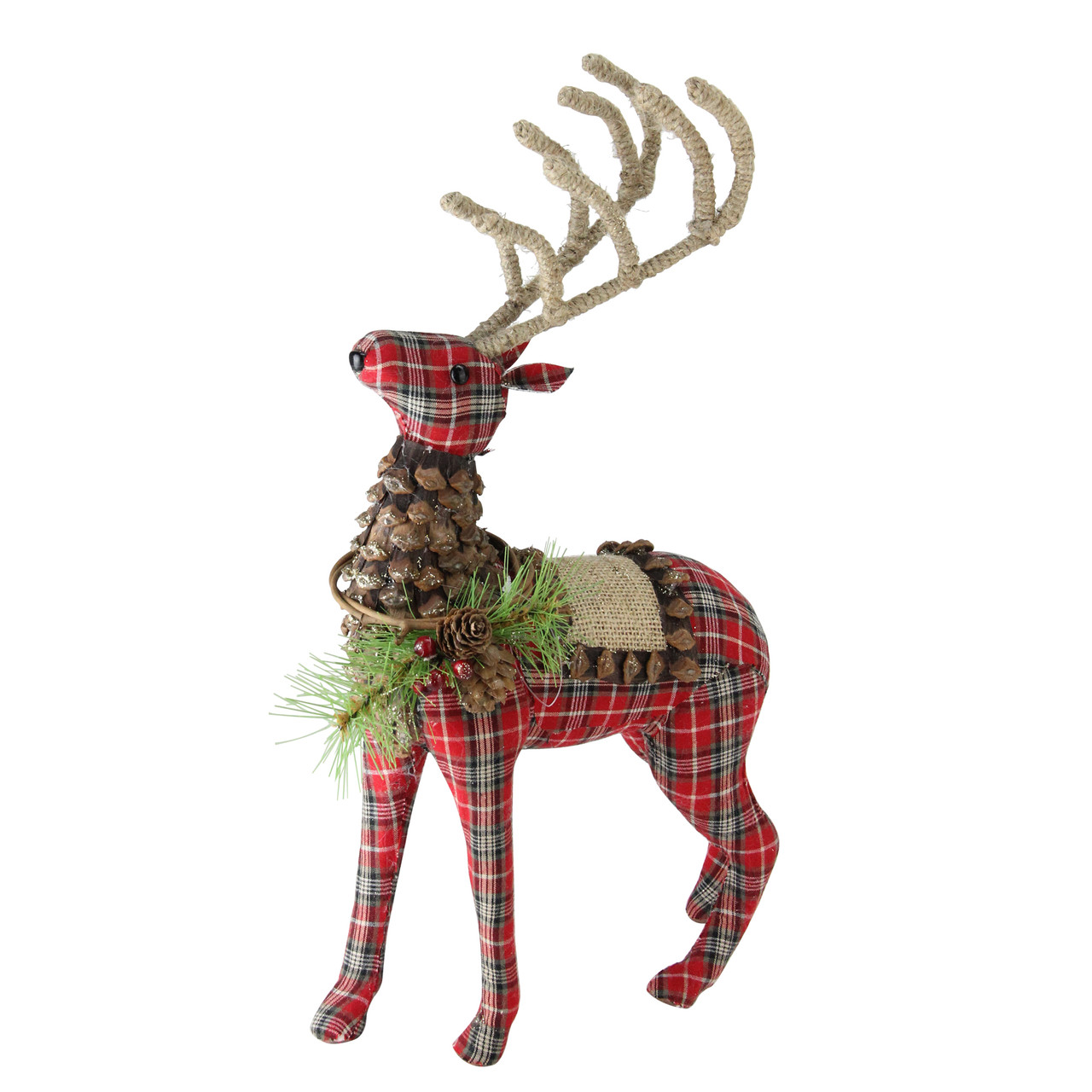 geometric reindeer christmas decoration by clouds and currents 1675