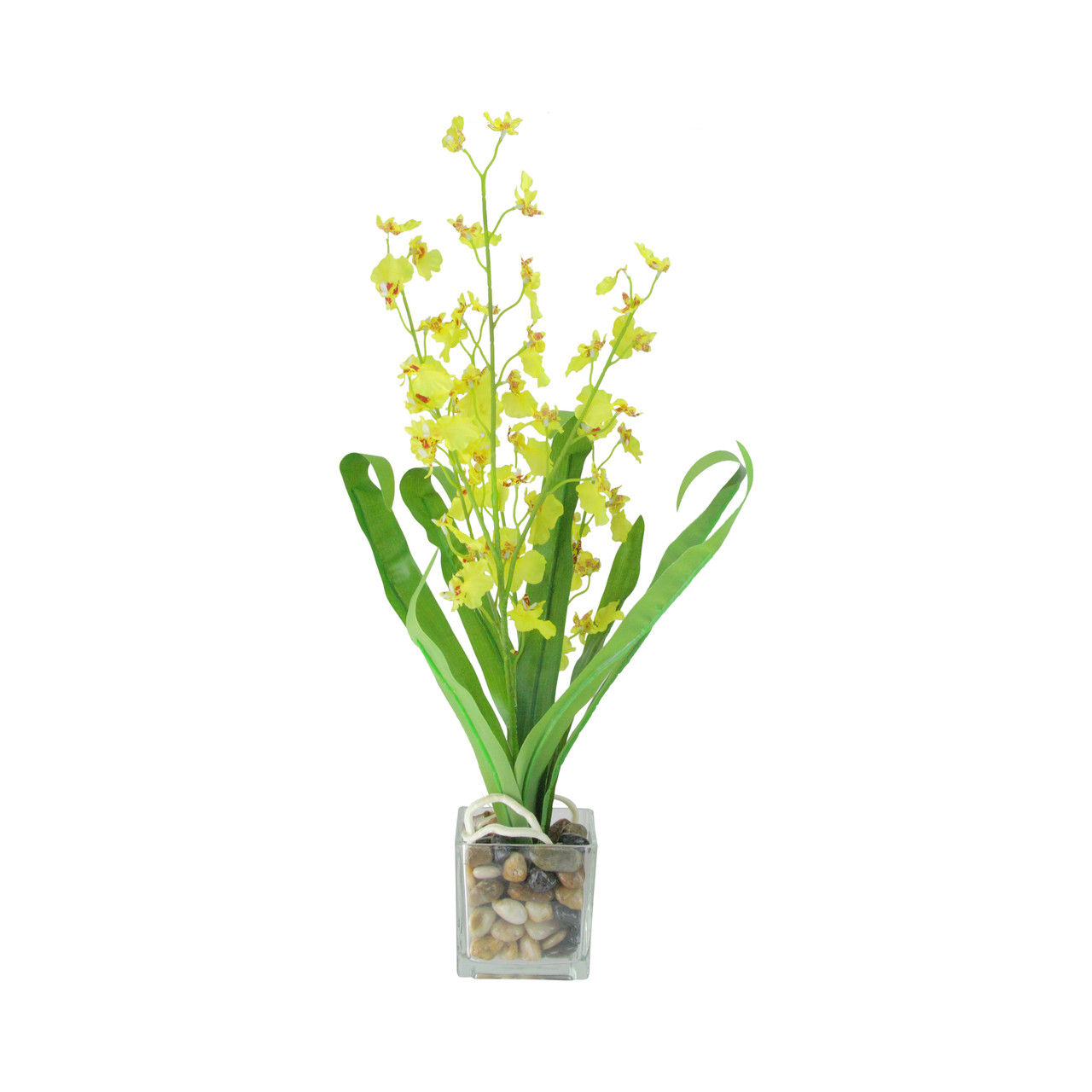 235 potted artificial yellow dancing lady orchid silk flower plant 235 potted artificial yellow dancing lady orchid silk flower plant 32631474 mightylinksfo