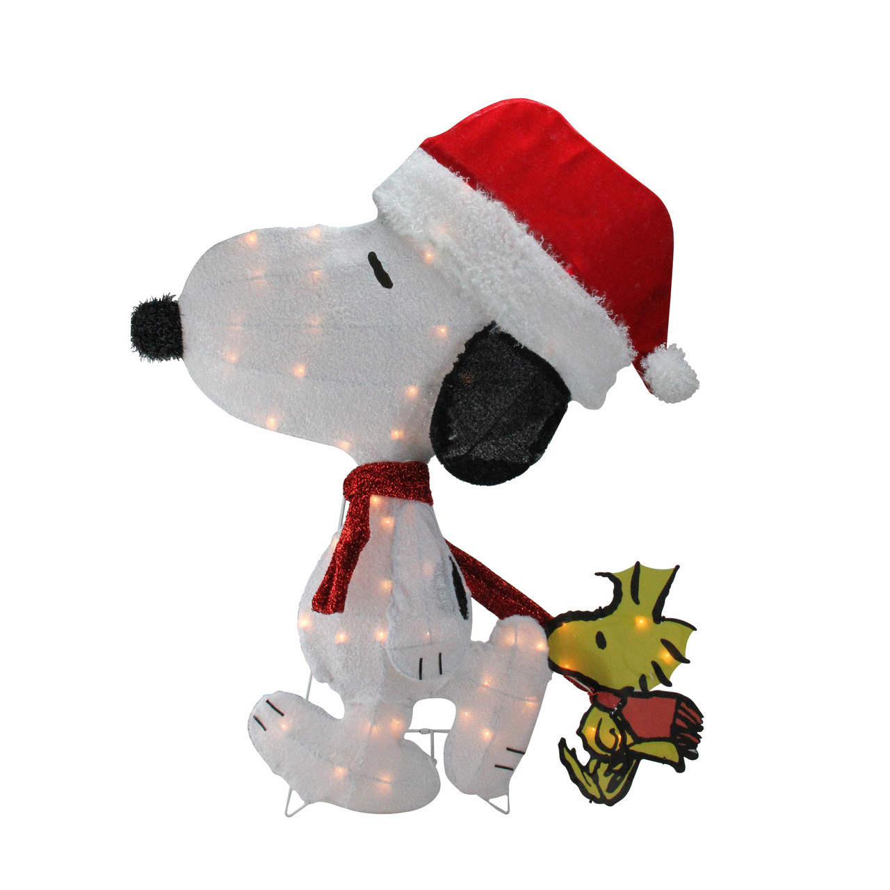 32 pre lit peanuts snoopy and woodstock 2d christmas outdoor decoration 32606675 - Snoopy Christmas Outdoor Decorations