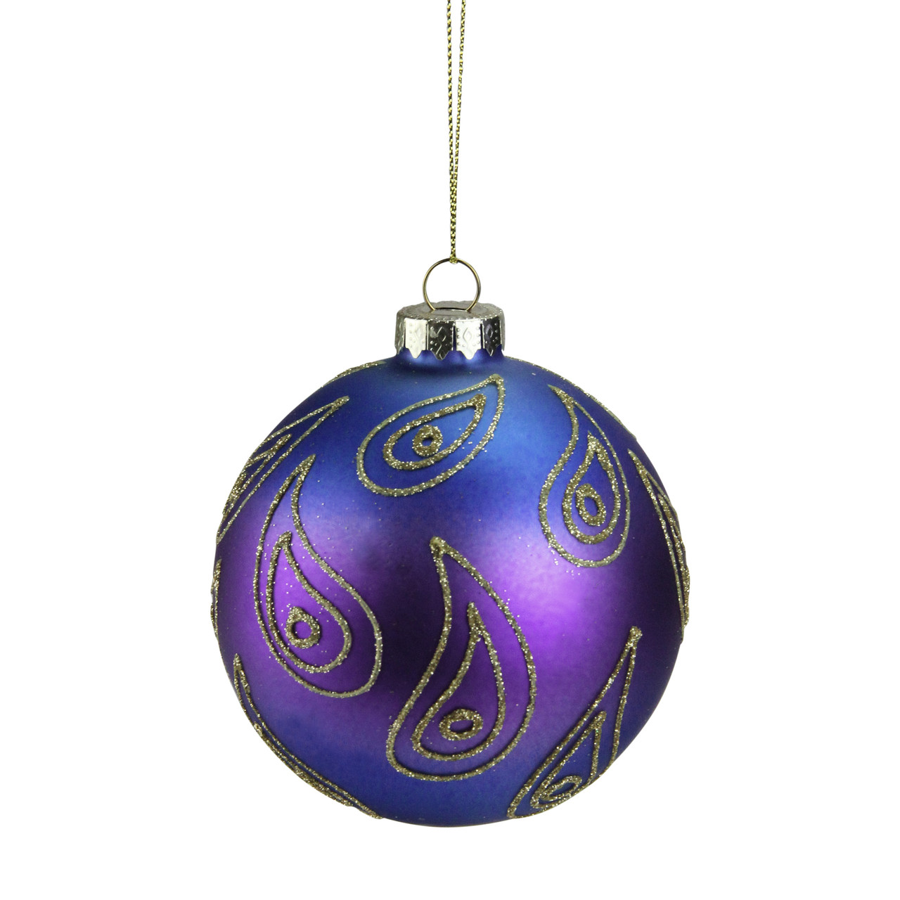 northlight - Blue And Gold Christmas Decorations