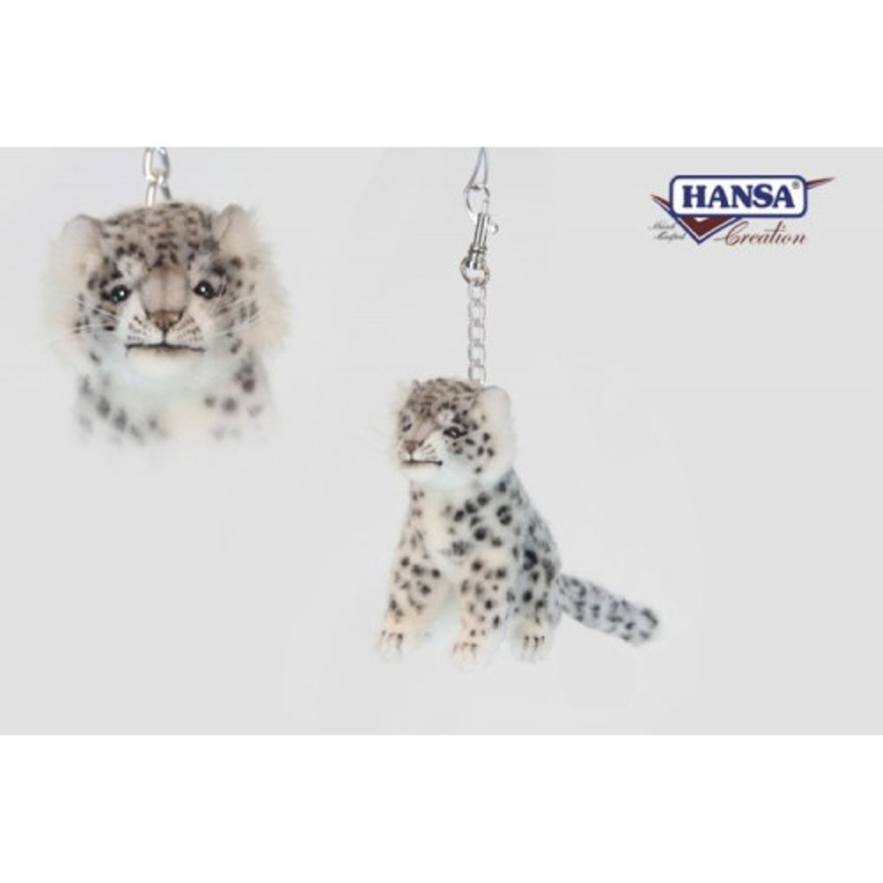 Set Of 6 Life Life Handcrafted Extra Soft Plush Snow Leopard Stuffed