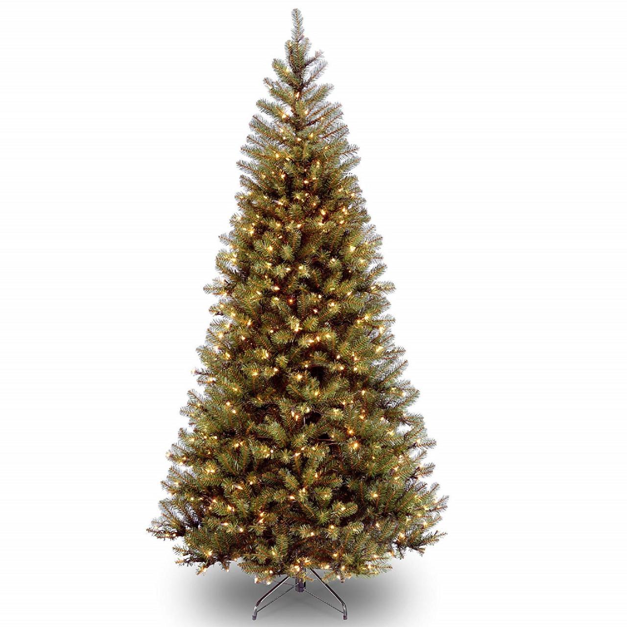 75 x 48 pre lit medium pine aspen spruce artificial christmas tree - 75 Pre Lit Christmas Tree