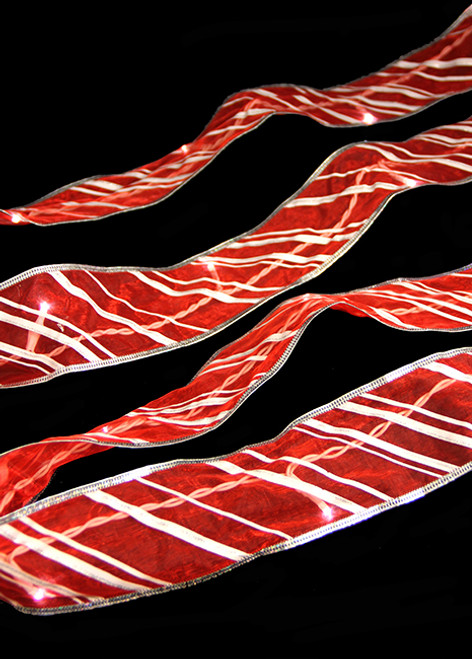 9 Led Lighted Battery Operated Candy Cane Christmas