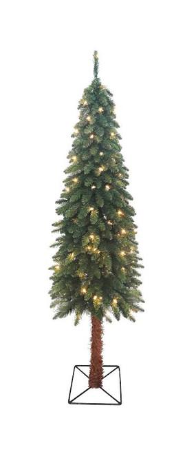 Pre Lit Christmas Tree Fuses: 3' Pre-Lit Two-Tone Alpine Artificial Christmas Tree