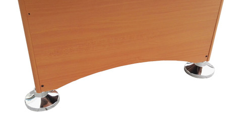 6u0027 X 3u0027 Brown, White And Red Recreational Air Hockey Game Table   32283730