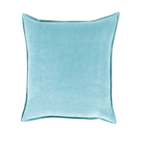 Medium Blue Throw Pillows : 13