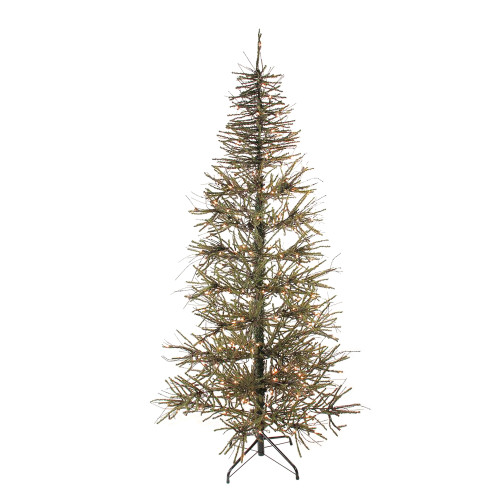 Pre Lit Christmas Twig Tree: 5' Pre-Lit Slim Vienna Twig Artificial Christmas Tree