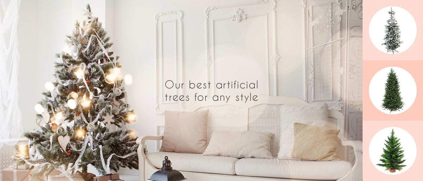 Artificial Christmas Trees, Lights & Home Decor - Christmas Central