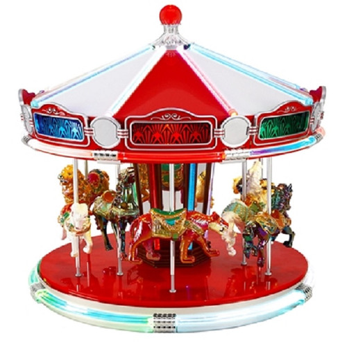 Mr. Christmas World's Fair Animated Musical Carousel