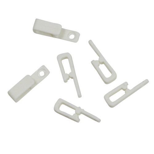 50ct Nail 'N Wire White Outdoor Christmas Light Clips
