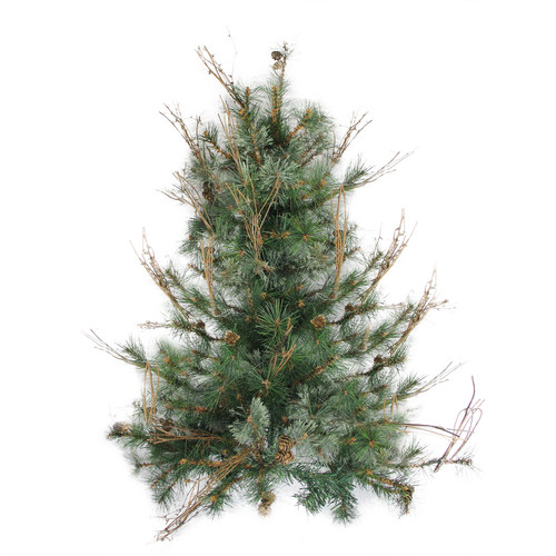 "3' x 28"" Country Mixed Pine Artificial Christmas Wall or ..."