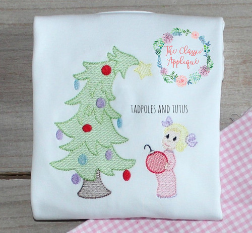 The Grinch Cindy Lou Who Christmas Tree Sketch Light Fill Quick
