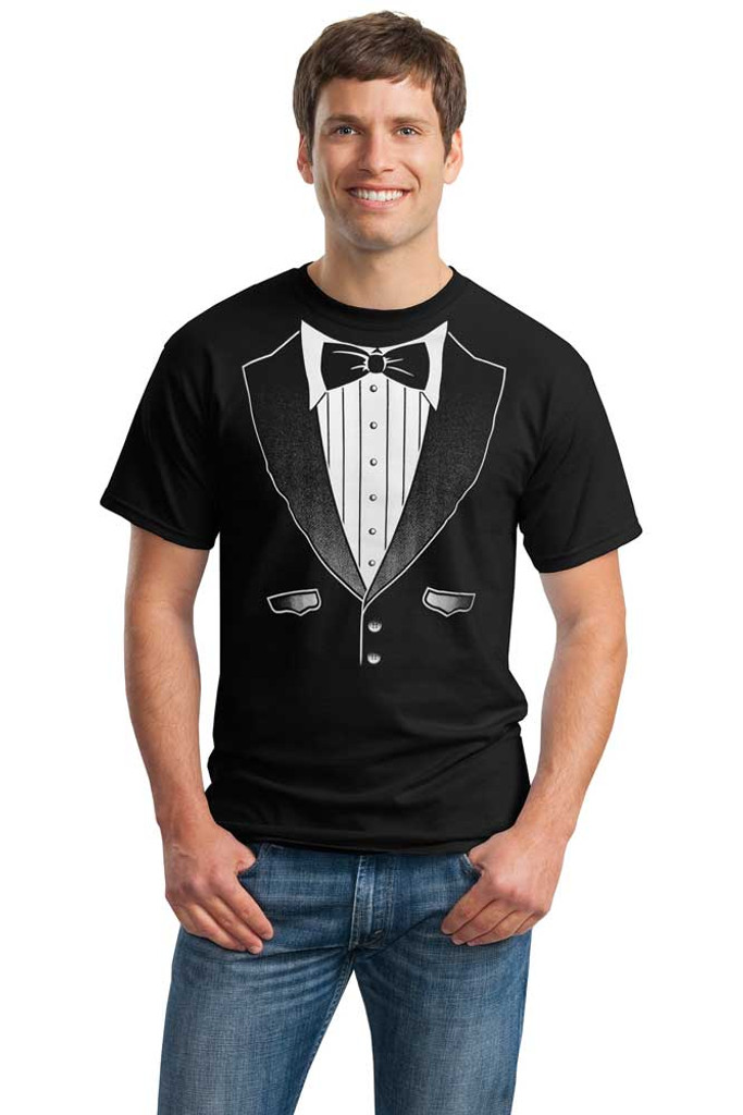 Original Black Tuxedo T-Shirt - Heavy Cotton