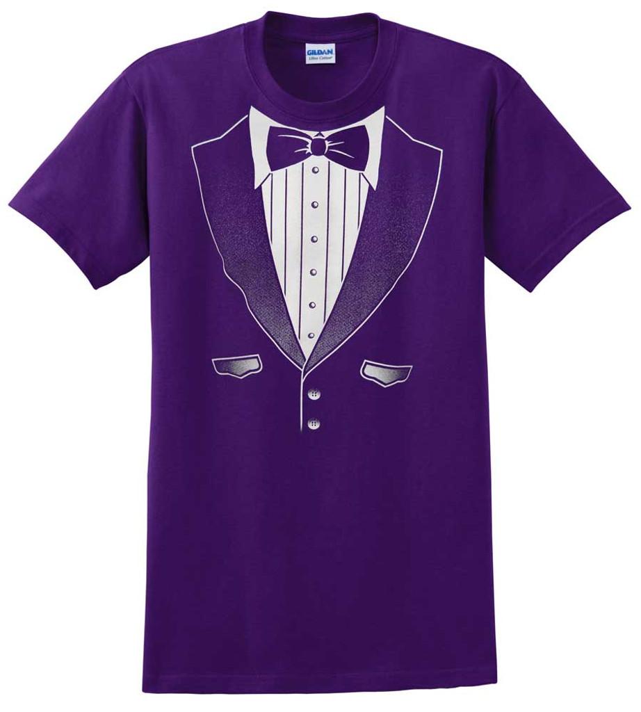 Original Purple Tuxedo T-Shirt - Heavy Cotton