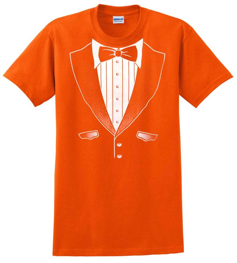 Original Orange Tuxedo T-Shirt - Heavy Cotton
