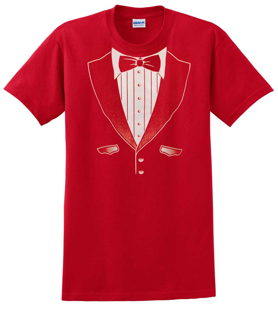 Original Red Tuxedo T-Shirt - Heavy Cotton