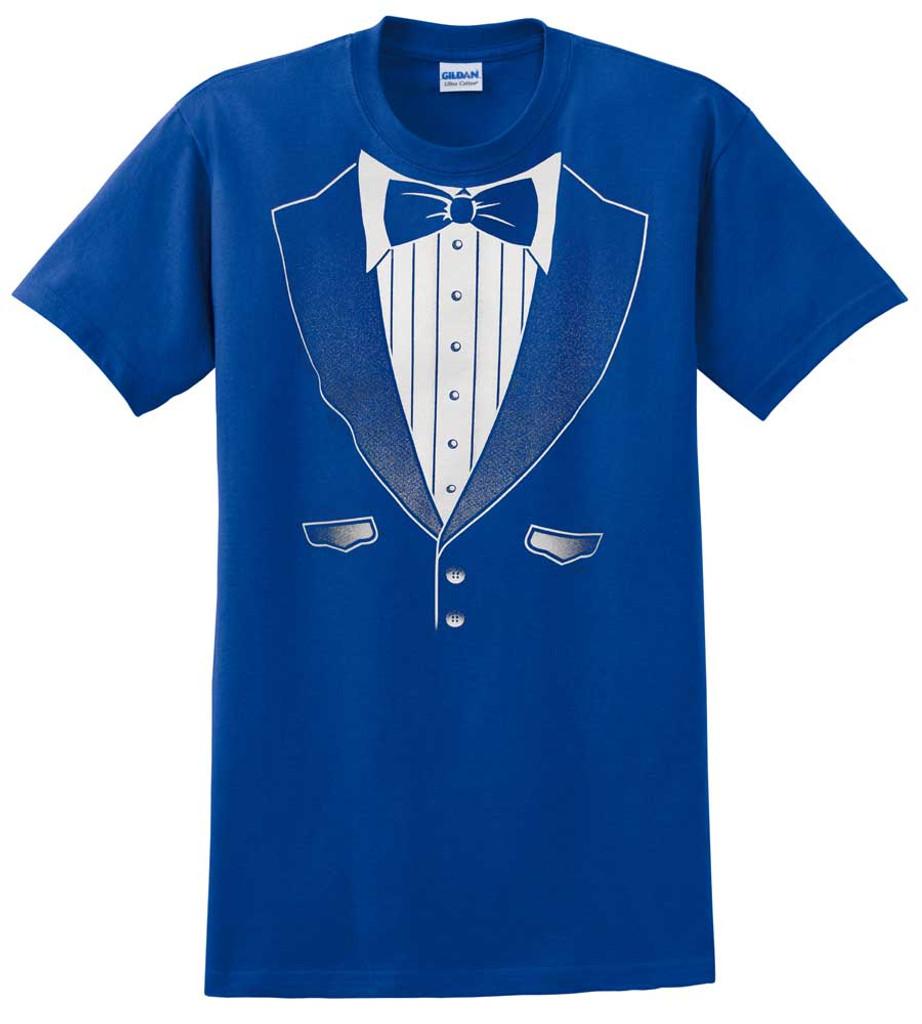 Original Royal Tuxedo T-Shirt - Heavy Cotton