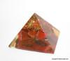Red Jasper Orgone Pyramid - 25 mm